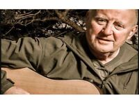 2 x Christy Moore Tickets Wednesday 26th April at the Usher Hall.
