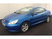2005 PEUGEOT 307CC CONVERTIBLE>>£899 WEEKEND ONLY PRICE<<LONG MOT..F S H