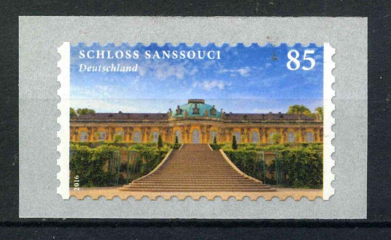 Bund 2016 Schloss Sanssouci  Mi-Nr.3231 ** selbstklebend Rolle - ohne Nummer