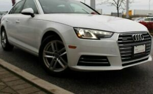 2017 Audi A4 Quattro Komfort Ibis White + Audi Care Package