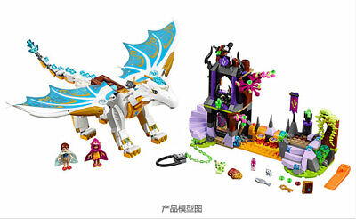 NEW Elves Queen Dragon's Rescue 41179 Compatible Lego Building Block sets