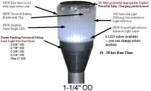 Post LED Light – White -$54.99 for 2 -CASH Save over 40% Post LE