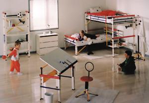 Complete Child Bedroom Set (Mecano) - Very good condition