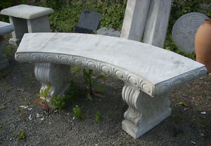 Looking for a concrete or cement garden bench!