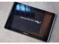 Samsung P5100 10.1' Phone/tablet. As new. Unlocked, . charger, Buetooth headphone