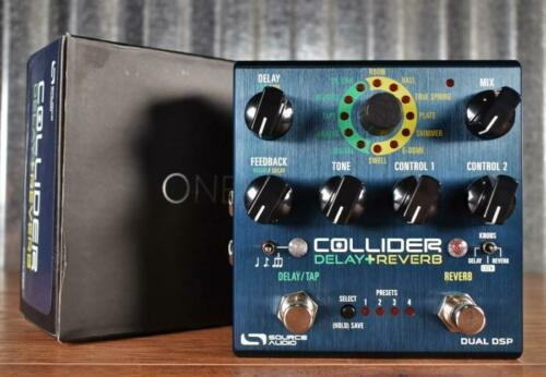 Source Audio SA263 Once Series Collider Stereo Delay + Reverb Pedal