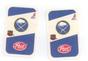 HOCKEY CARDS-82/83 POST-16 Different Buffalo Sabres - Old Logo