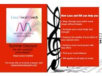 Singing lessons £30,00 1h/ 20,00 half hour in Streatham Common & Bromley