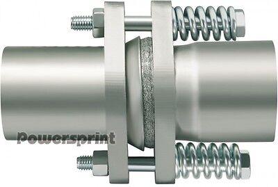 Edelstahl Auspuffrohr Kompensator Durchmesser 63,5mm