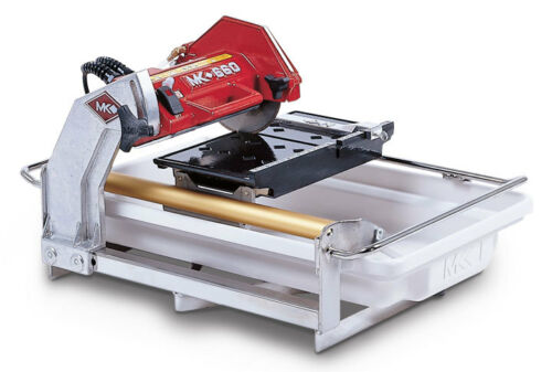 "NEW MK DIAMOND  MK-660  3/4"" HP,  7"" WET CUTTING TILE SAW"