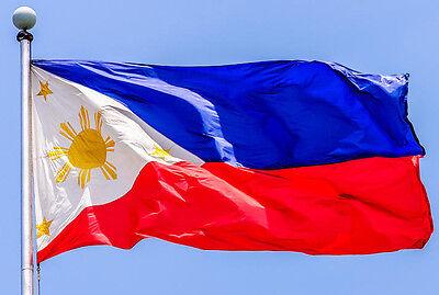 PHILIPPINES FILIPINO FLAG NEW 3x5 ft