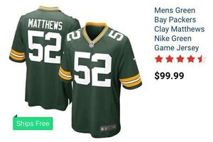 Brand new nfl Green Bay jersey for sale