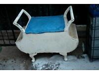 Linen Basket lloyd loom type