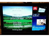 Toshiba 32 Inch LCD HD TV, Freeview, USB, Remote. Wall Bracket, Immaculate condition. NO OFFERS