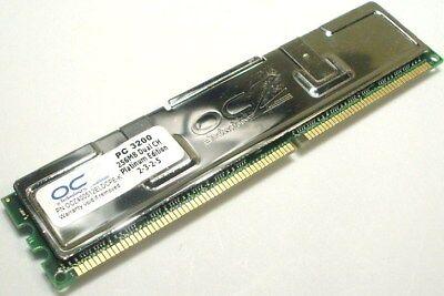 OCZ 256mb DDR 400 PC 3200 Desktop Memory Dual Channel 3200 Ddr Dual Channel Memory