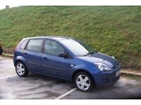 FORD FIESTA ZETEC, MOT 12 MONTHS, 1 KEEPER, SERVICE HISTORY, HPI CLEAR