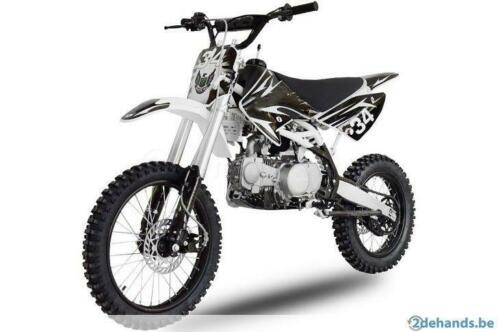 Pitbike motorcross crossbrommer dirtbike Apolo Nitro Orion
