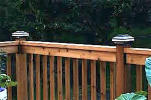 GET FREE DECK LIGHTS & SAVE $S ON UR DECK/FENCE WHEN U BOOK NOW!