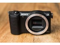 Sony a5100 - camera body. Perfect for vlogging