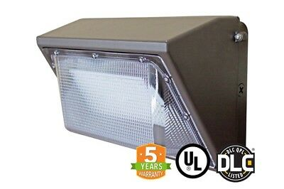 Led Wall Pack 55w Fixture Dlc Outdoor Lighting Usa Seller