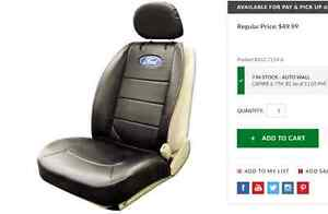 Car seat cover, Ford logo