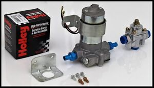120 GPH ELECTRIC FUEL PUMP WITH HOLLEY REGULATOR # S-6254-KIT