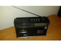 Rare Vintage Retro Bush BR8410 Radio-Cassette