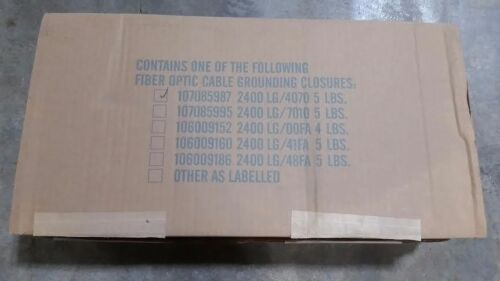 At&t/lucent 107085987  Fiber Optic Enclosure Kit 2400lg-4070 Clearance Sale!