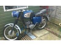 Mz ts125 1977 x3 125cc barn find motorbike