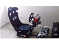 Fanatec CSR Elite & WRC Playseat Racing Sim