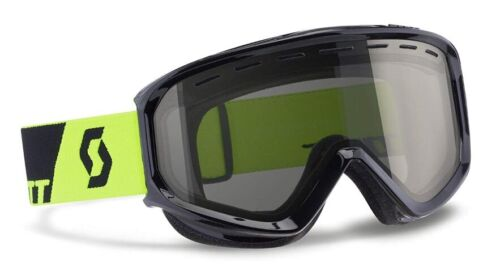 NEW $90 RARE Scott Mens Level Snow Winter Ski goggles Smith Black Neon Yellow