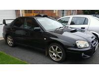 Subaru impreza wrx turbo with prodrive