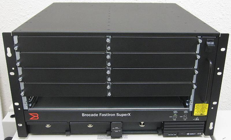Brocade/foundry Fastiron Superx Fi-sx1-ac Chassis Fan And Power Supply 10xavail