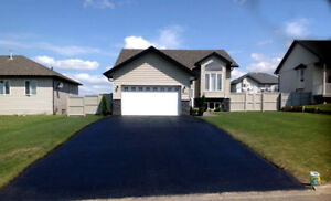 Curb Appeal Driveway Seal Coating and Pressure Washing