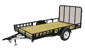 UTILITY/LANDSCAPE TRAILERS IN STOCK
