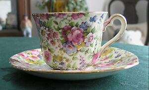 Royal Winton Grimwades-Chintz (Summertime) Cup and saucer Guelph Ontario image 1