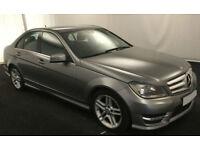 2012 MERCEDES C220 CDI AMG SPORT GOOD / BAD CREDIT CAR FINANCE FROM 59 P/WK