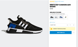 ADIDAS MEN'S EQT CUSHION ADV SHOES BRAND NEW