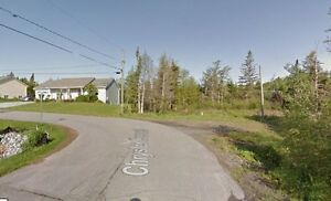 LOT AT END OF CHRYSLER DRIVE IN POPULAR QUISPAMSIS!