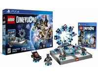 PS4 Lego dimensions starter pack comes with 4 extra characters
