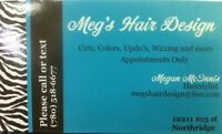 HAIRSTYLIST FROM HOME OFFERING 10% OFF ALL COLORS!!