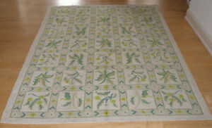 large antique wool rug