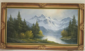 2 Original Oil paintings with frame