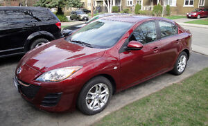 "IMMACULATE Low Mileage 2010 Mazda 3 ""Wineberry Red"""