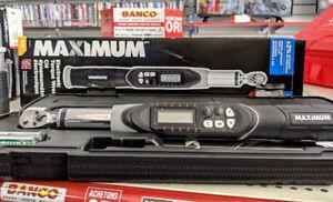 Clé dynamomètre électronique Maximum
