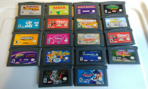 19 GAME BOY ADVANCE GAME CARTRIDGES - $60