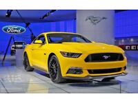 Ford Mustang 5.0 V8 GT Manual 2018 Model Tripple yellow fastback