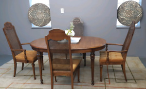 Solid dining set/delivery available