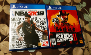 Red Dead Redemption 2 NBA 2K19 PlayStation 4 PS4