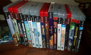 Sony Ps3 games 19 total